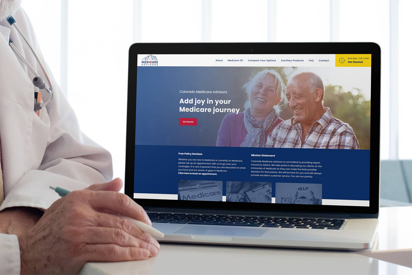 colorado medicare advisors web design