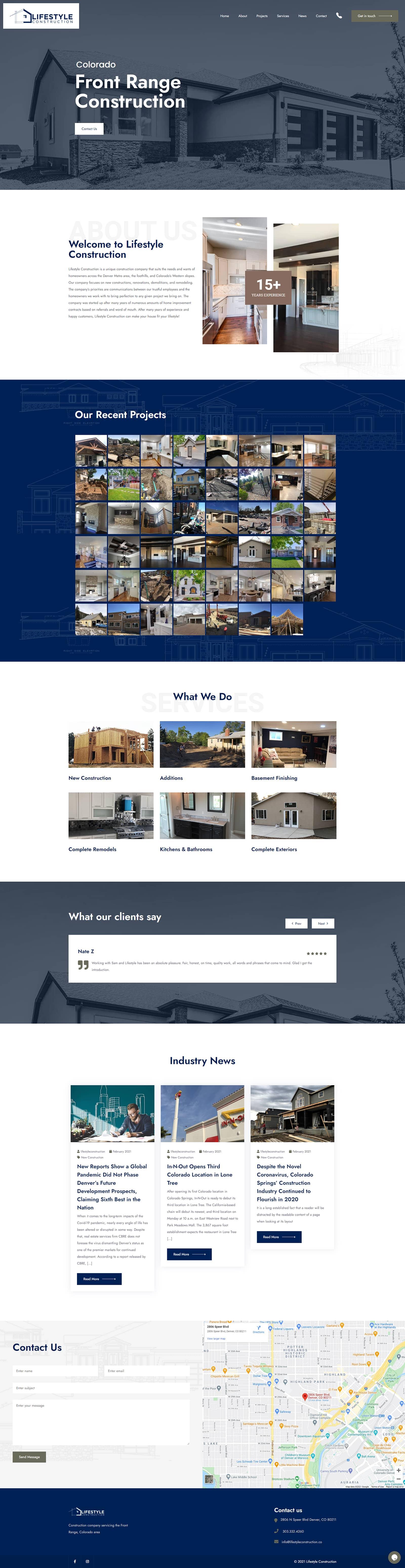 lifestyle construction screenshot